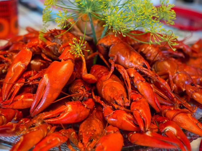 美食小龙虾